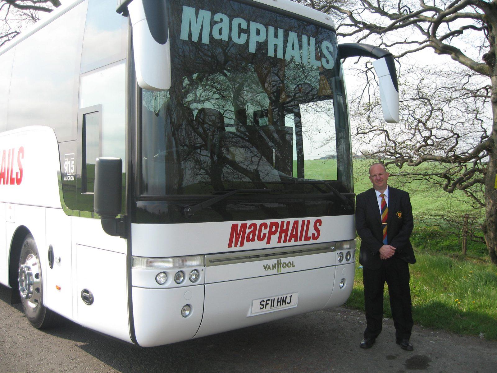 MacPhails Coach Hire Driver