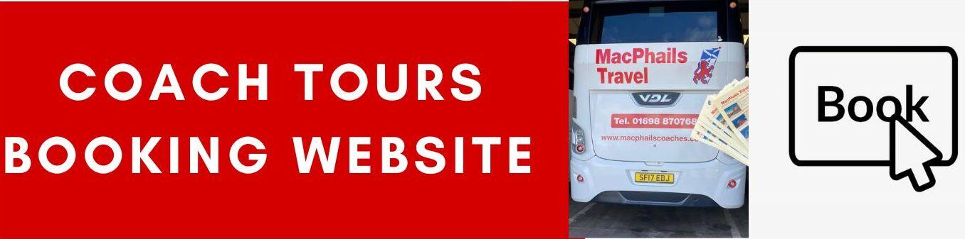 Coach Tours Booking Website